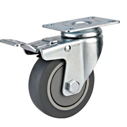 Medium Duty Casters with TPR Wheel